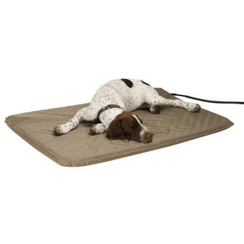 best heated dog bed ku0026h lectrosoft outdoor bed