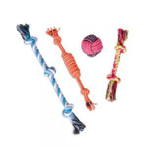 Colemeter Dog Chew Toys Set