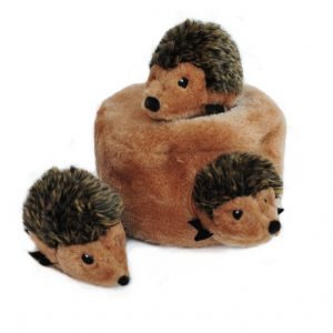 ZippyPaws Burrow Squeaky Hide n Seek Plush Dog Toy