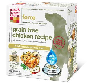 honest kitchen human grade dehydrated grain free dog food image