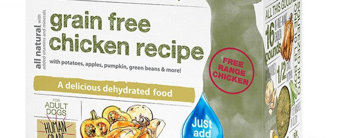 dehydrated dog food featured image