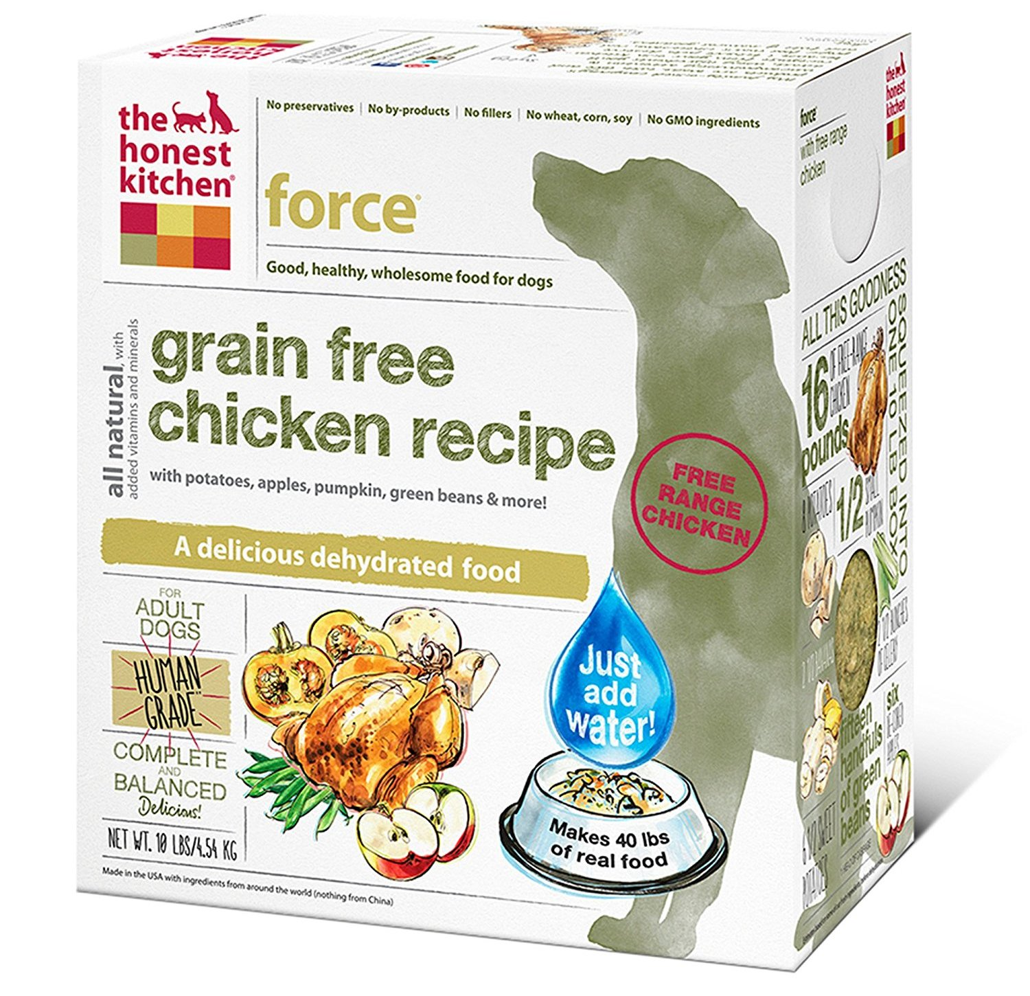 Top Brand Non Gmo Dog Food