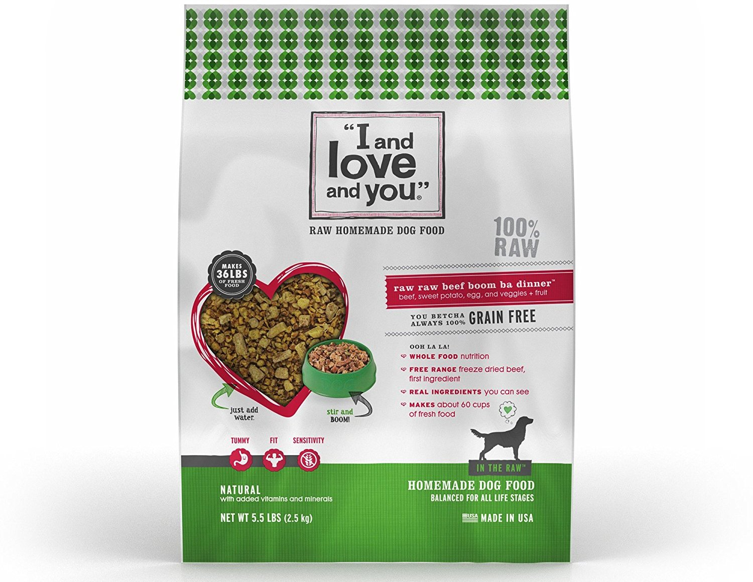 Dehydrated Raw Dog Food Grain Free