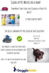 Bissell Barkbath Info-graphic