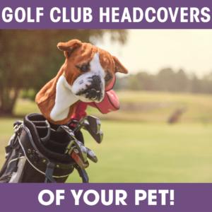Cuddle Clone Golf Club Cover