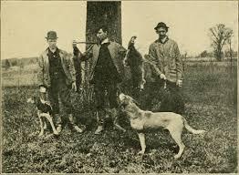 Historic Hunting Dog