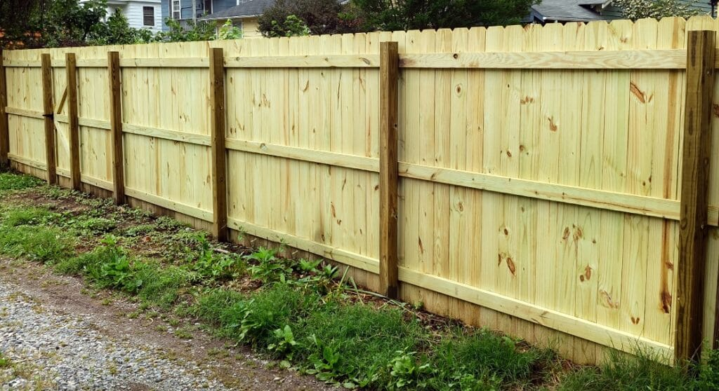 6 foot Privacy Fence